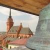 Widok z wieży ratuszowej na katedrę