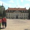 Przed pałacem w Nieborowie