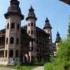 Zamek w Łapalicach nieukończona budowa